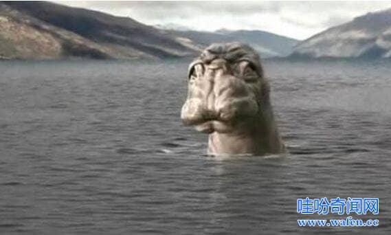 尼斯湖水怪真