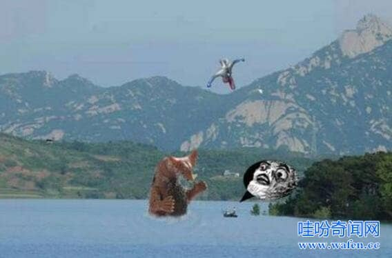 铜山湖水怪