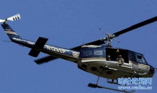 直升机越狱事件
