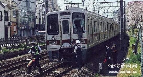 日本跳轨消失的女人