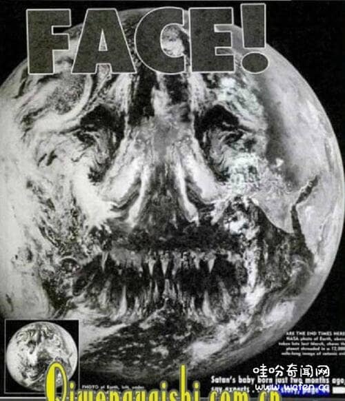 地球恶魔脸