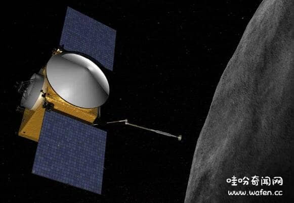 NASA在小行星发现水迹象