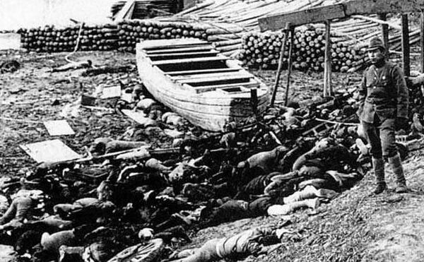 盘点人类史上惨无人道大屠杀,南京大屠杀30万/灭绝人性的日本鬼子