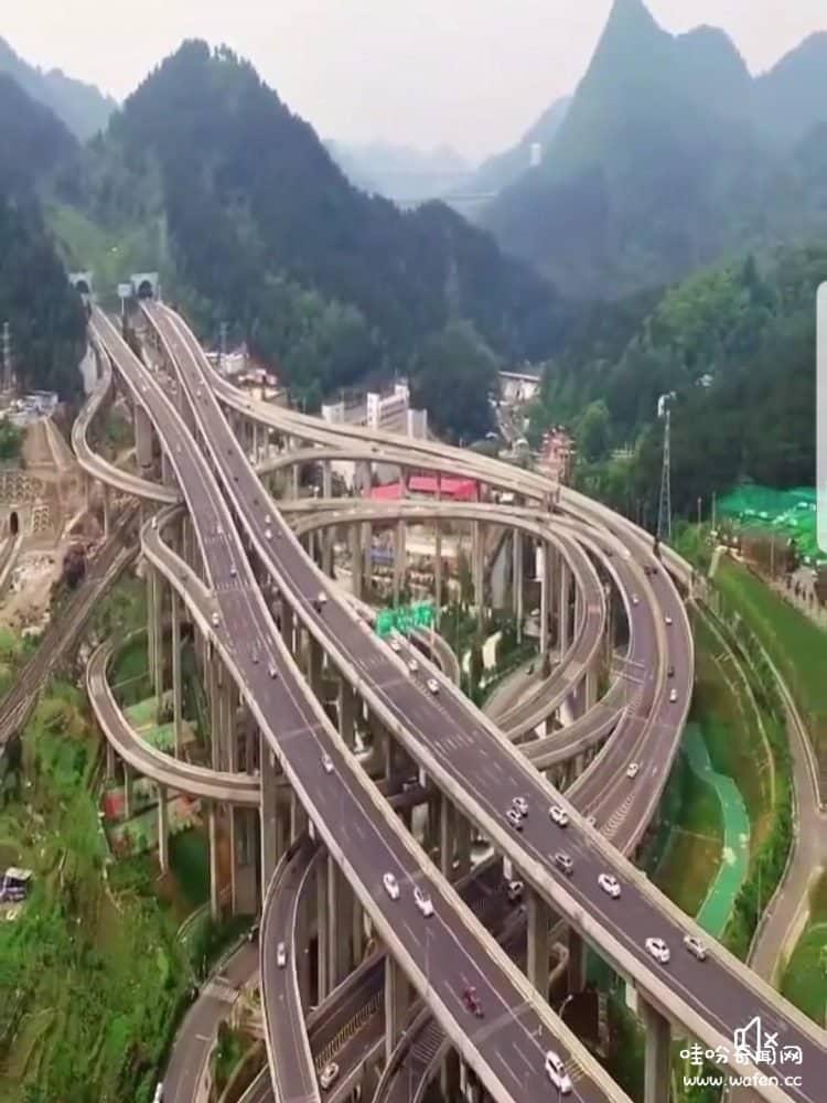 巨大的过山车,立交桥,世界之最