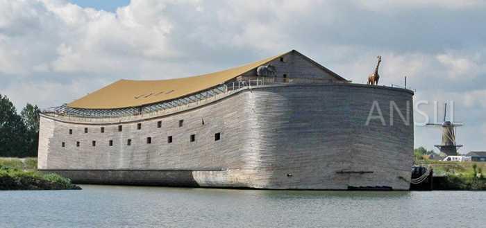 荷兰人花160万造了个诺亚方舟,但运到以色列运费要130万