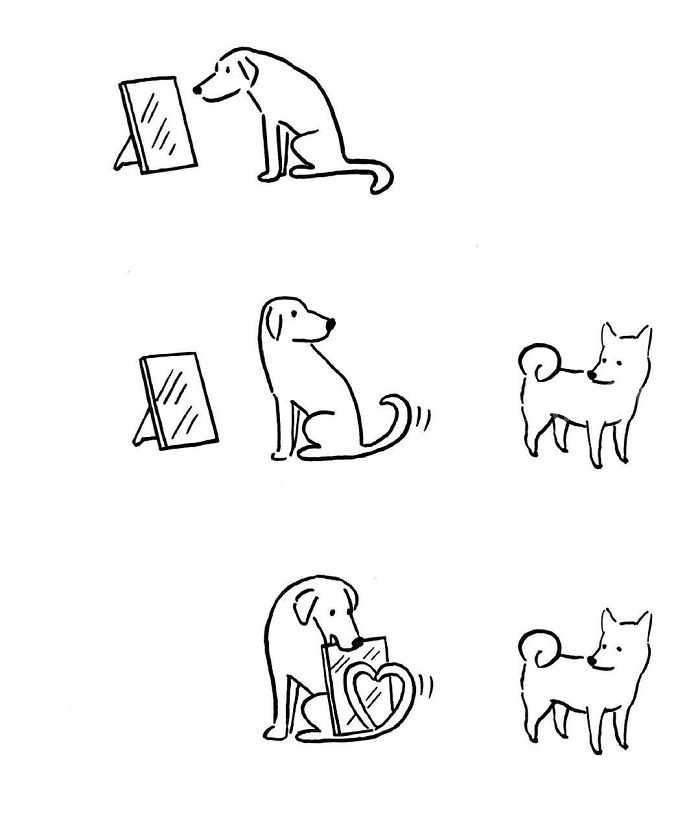来自Tango高友军的幽默漫画,简单风趣,意义深刻!