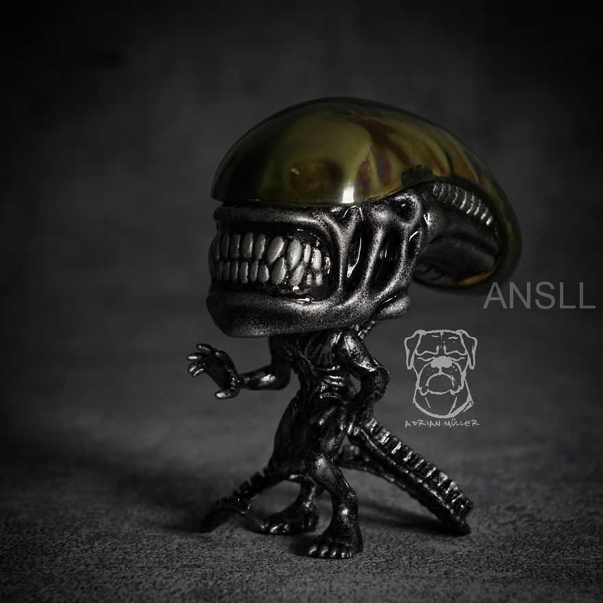 受80年代恐怖电影启发的手工Funko玩具,希望不会吓到你!